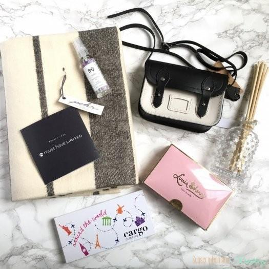 POPSUGAR Must Have 2016 Winter / Holiday for Her Limited Edition Box Review
