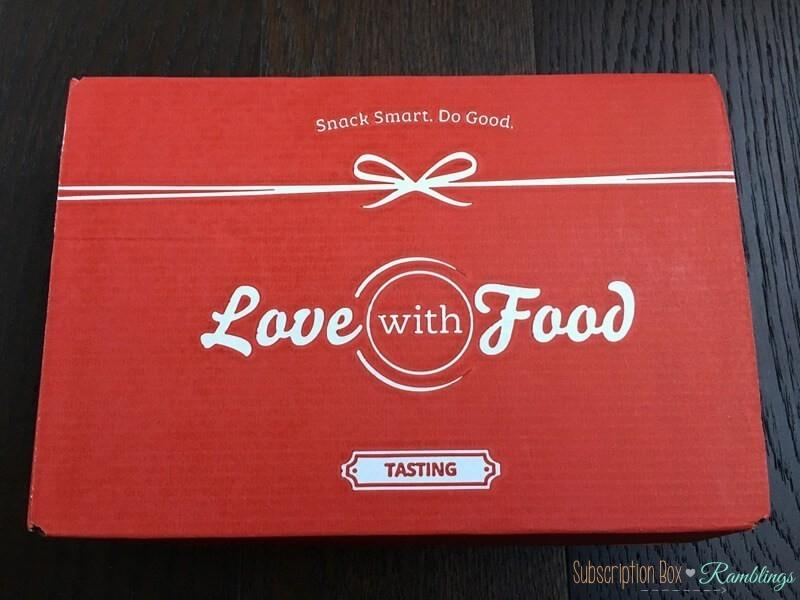 Love With Food February 2017 Spoilers + Coupon Code