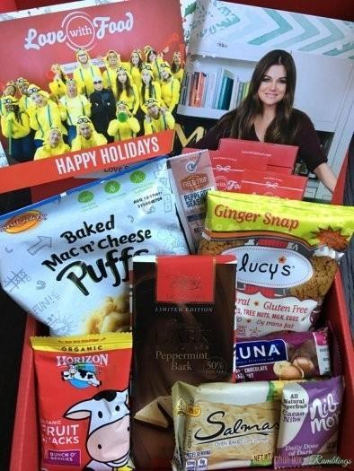 Love With Food Review – December 2016 Tasting Box + Coupon Codes