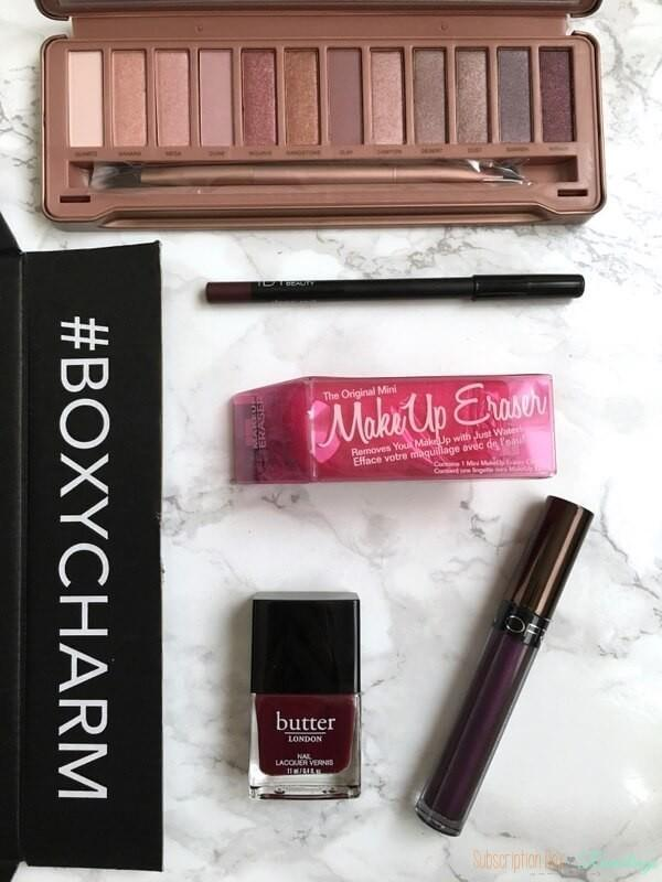 BOXYCHARM Review – December 2016