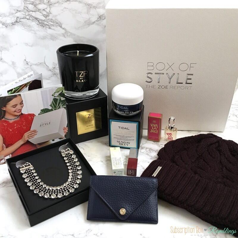 Box Of Style Review Winter 2016 + Coupon Code