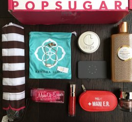 POPSUGAR Must Have Box RueLaLa Holiday Glamour Box Review