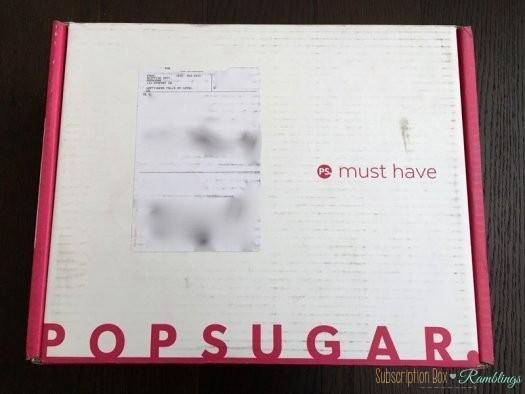 POPSUGAR Must Have The Fashion and Beauty Mystery Box Review
