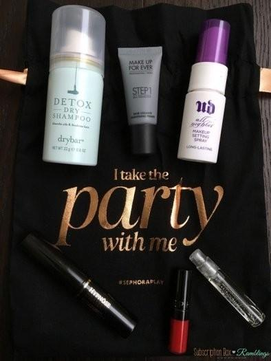 Play! by Sephora Review – December 2016