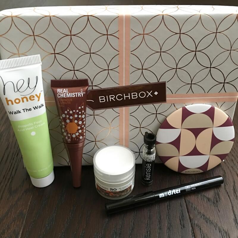 Birchbox Review – December 2016 Box + Coupon Codes
