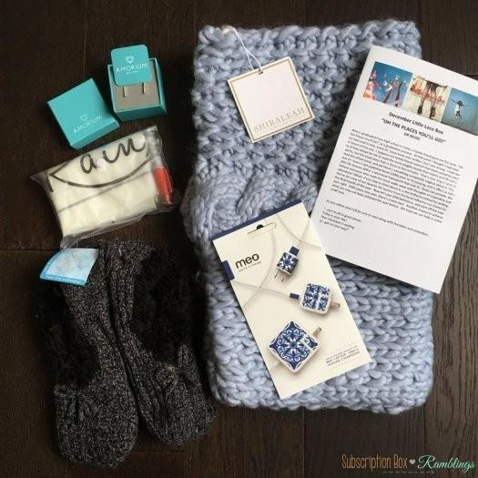 Little Lace Box December 2016 Subscription Box Review + Coupon Code