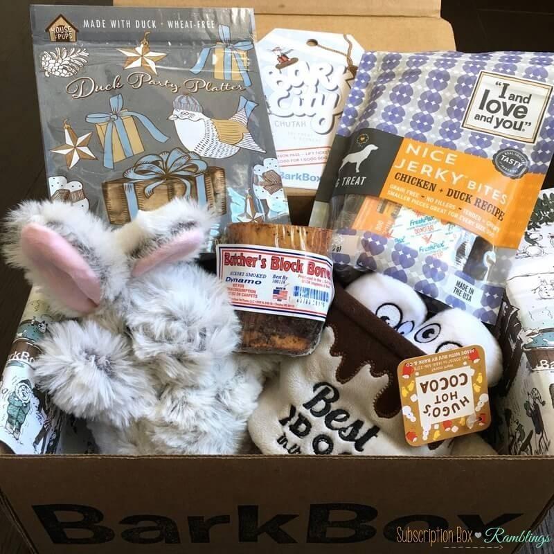 BarkBox Review + Coupon Code – December 2016