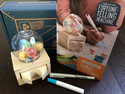 Doodle Crate Review + Coupon Code –  December 2016