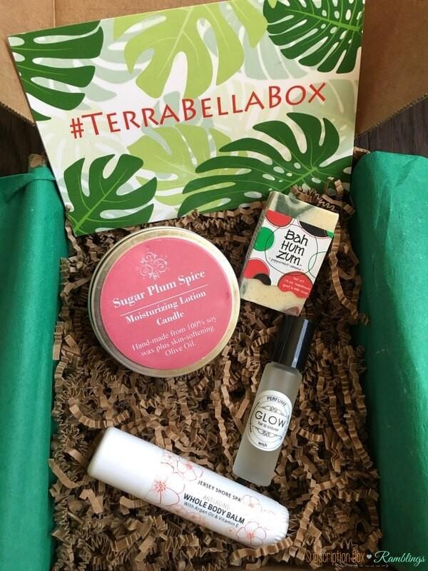 Terra Bella Box Review December 2016