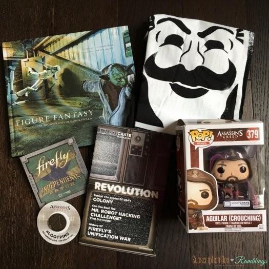 Loot Crate Review – December 2016 + Coupon Code