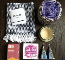 """GlobeIn Review December 2016 Subscription Box - """"Comfort"""" + Coupon Code"""