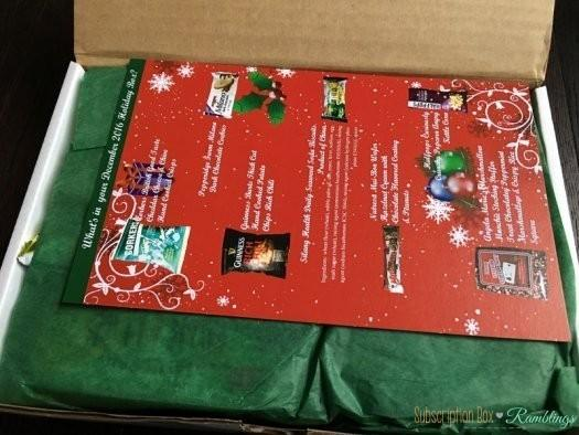 Something Snacks Review December 2016 Subscription Box