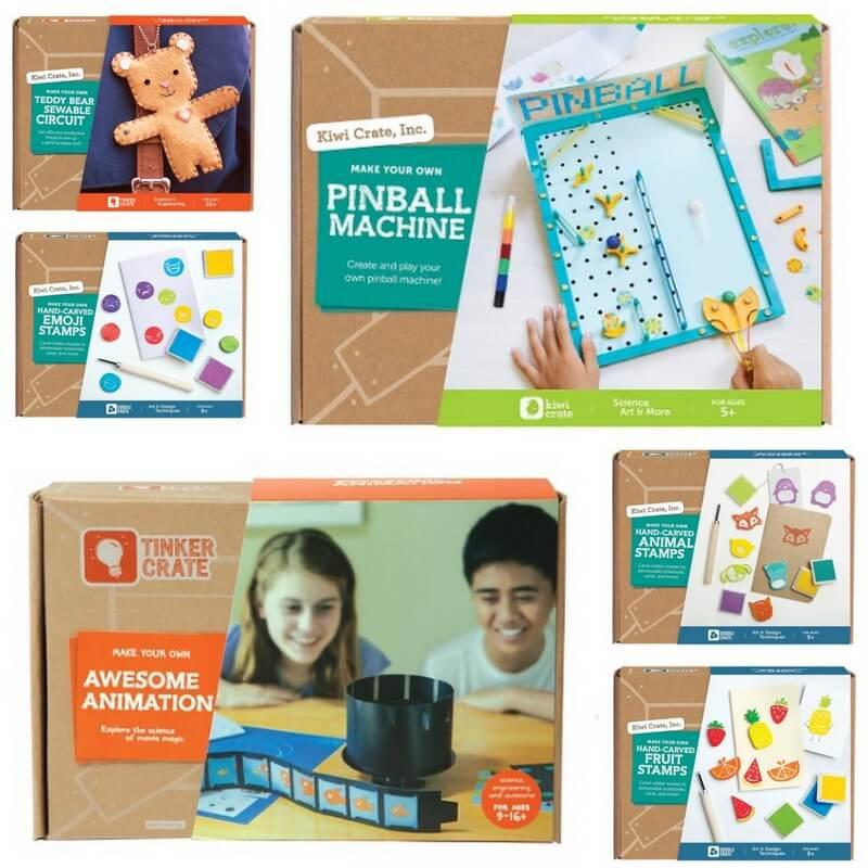 Kiwi Crate – 30% Off + Kits @ Target!