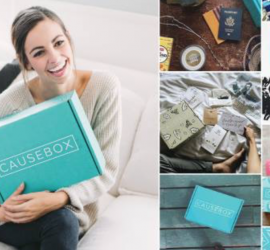 CAUSEBOX Holiday Shipping Deadlines + $10 Off Coupon Code