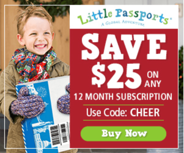 Little Passports – Save $25 Off a 12-Month Subscription