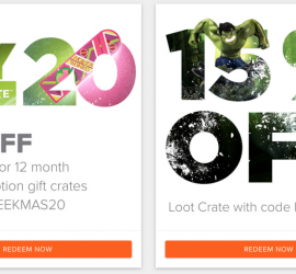 Loot Crate - $10 Off Multi-Month Plans / 15% Off Loot Crate