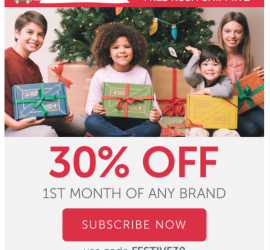 Kiwi Crate - 30% Off First Month + Free Rush Shipping!