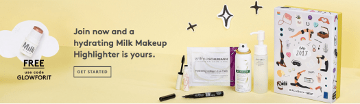 Birchbox Free Milk Makeup Highlighter with New Subscriptions!