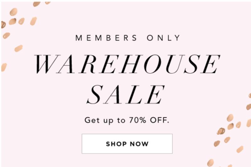 FabFitFun Member's Only Warehouse Sale