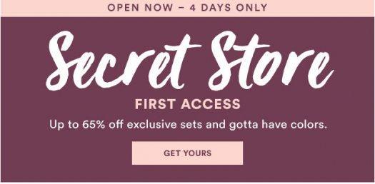 Julep January 2017 Secret Store - Now Open!
