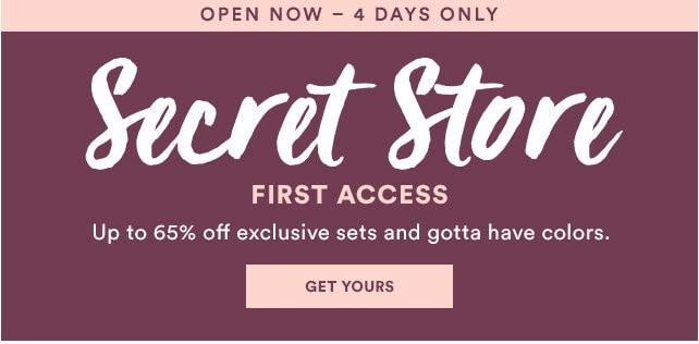 Julep January 2017 Secret Store – Now Open!