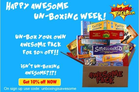 Awesome Pack 10% Off Coupon Code