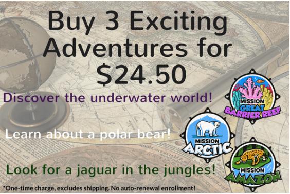 Junior Explorer – 50% Off 3-Months