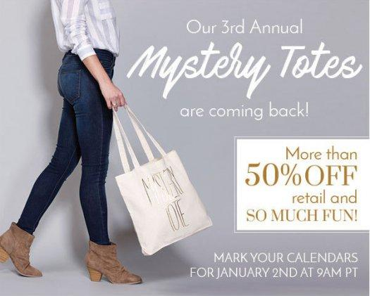 Golden Tote Mystery Tote – On Sale Now!