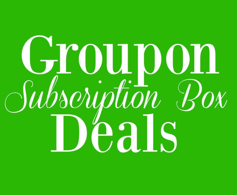 Groupon Subscription Box Deals Round-Up!