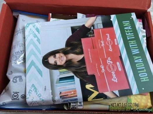 Love With Food Review - December 2016 Tasting Box + Coupon Codes