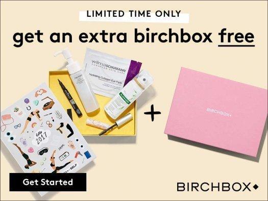 Birchbox - Free Bonus Box with New Subscriptions