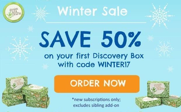 Green Kid Crafts Coupon Code – 50% Off First Box (Last Call)
