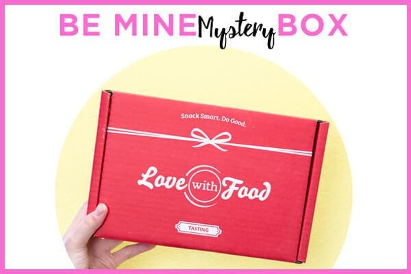 Love With Food Be Mine Mystery Box + Valentine's Day Sale + February 2017 Spoilers!