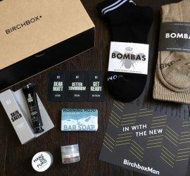 Birchbox Man Review - January 2017 Subscription Box + Coupon Code
