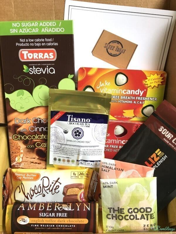 Sleek Treat December 2016 Subscription Box Review