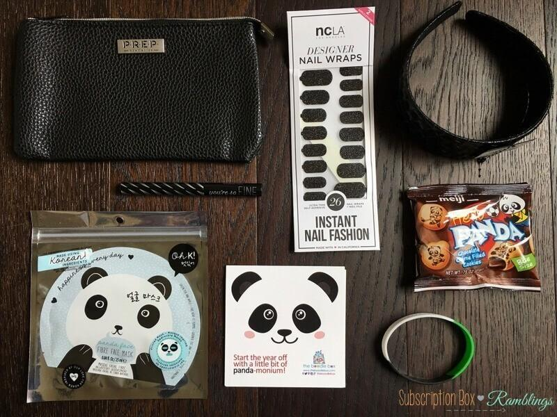 The Boodle Box Review January 2017 Subscription Box