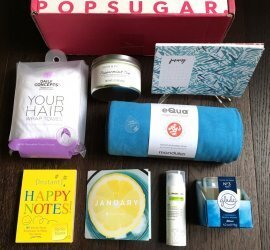 POPSUGAR Must Have Box Review January 2017 + Coupon Code