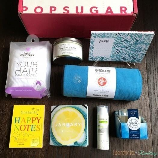 POPSUGAR Must Have Box Review + Coupon Code – January 2017