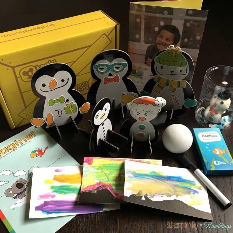 Koala Crate Review – December 2016 Subscription Box + 30% Off Coupon Code