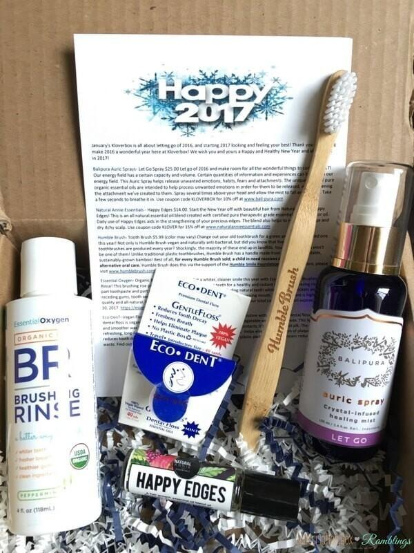 Kloverbox Review – January 2017 Subscription Box + Coupon Code