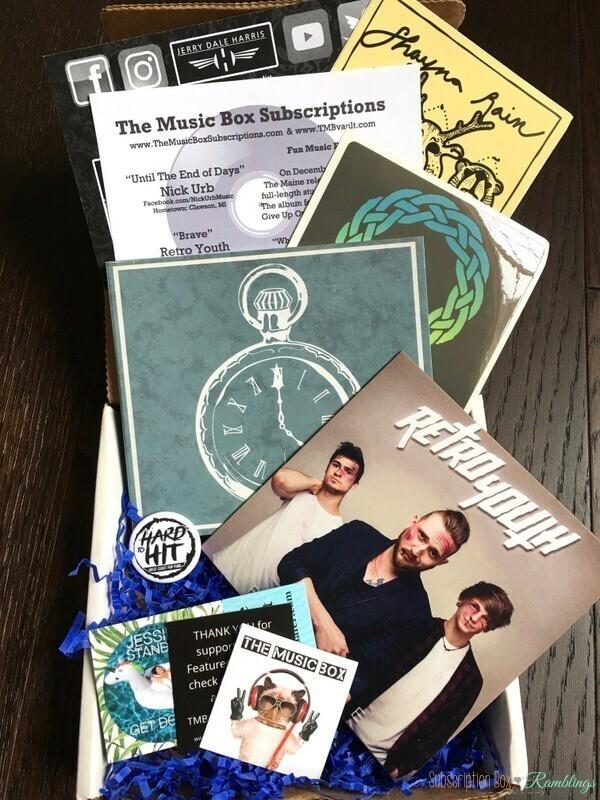 The Music Box Review – January 2017