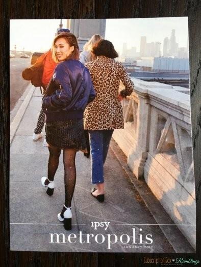 ipsy Review January 2017 Subscription Box