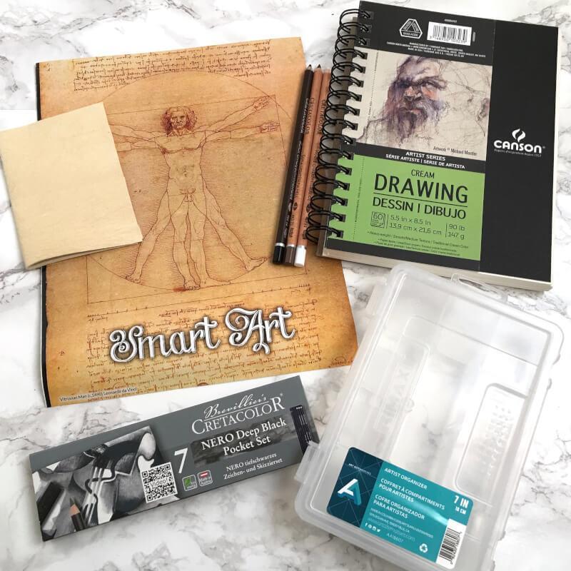 Smart Art Review January 2017 Subscription Box Ramblings