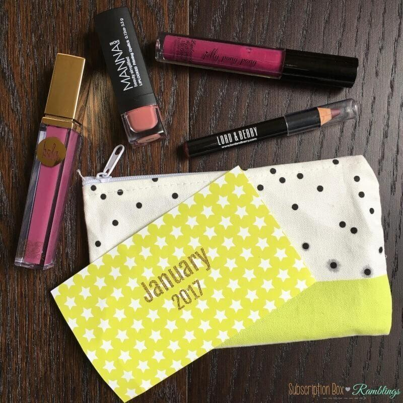 Lip Monthly Review + Coupon Code – January 2017