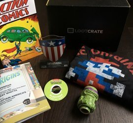 Loot Crate Subscription Box Review + Coupon Code - January 2017
