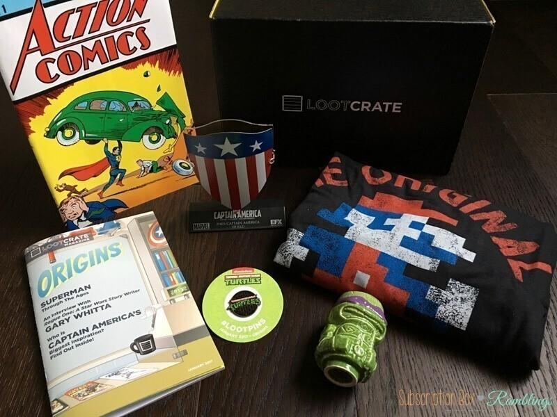 Coupon code loot crate