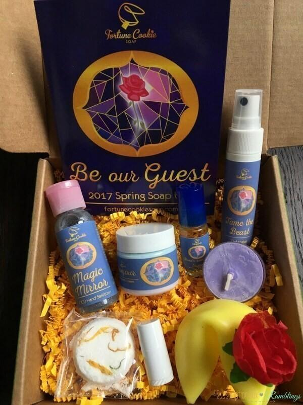 Fortune Cookie Soap Subscription Box Review – Spring 2017