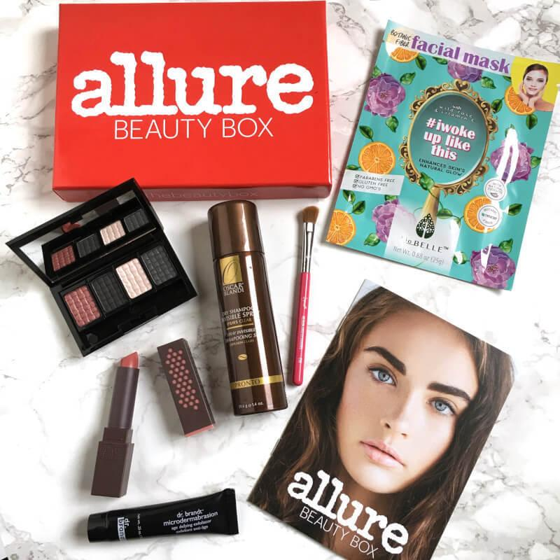 Allure Beauty Box Review January 2017 Subscription Box