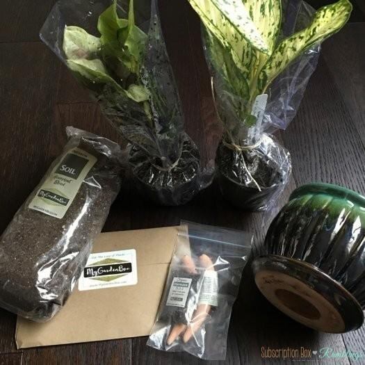 My Garden Box Review - January 2017