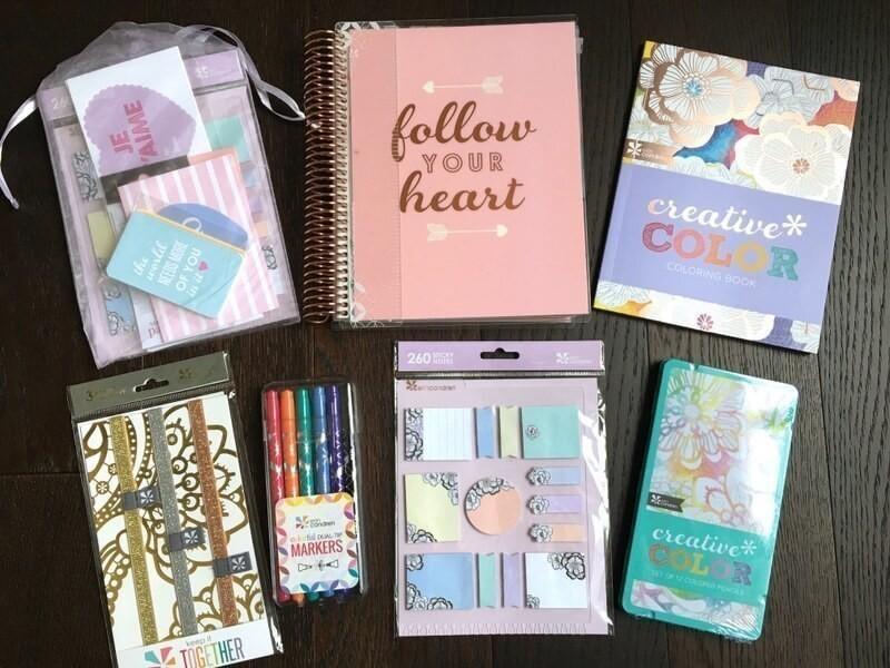 Erin Condren Life Planner Prize Pack Giveaway!